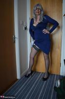 BarbySlut. Barby's New Blue Dress Free Pic 2
