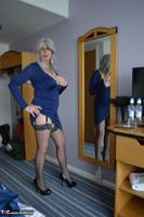 BarbySlut. Barby's New Blue Dress Free Pic 3