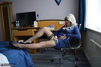 BarbySlut. Barby's New Blue Dress Free Pic 5