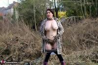 Juicey Janey. Furry Feline In Leopard Print Coat Pt2 Free Pic 12