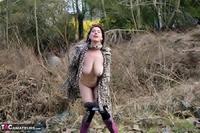 Juicey Janey. Furry Feline In Leopard Print Coat Pt2 Free Pic 19