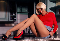 Liliane. Kitchen Lecherousness Free Pic 5