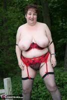 Kinky Carol. Denim Mini & Stockings Pt3 Free Pic 6