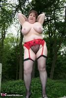 Kinky Carol. Denim Mini & Stockings Pt3 Free Pic 10