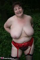 Kinky Carol. Denim Mini & Stockings Pt3 Free Pic 11