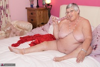 Dirty Doctor. Grandma Libby On The Bed Free Pic 15