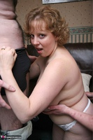 Curvy Claire. Threesome Fun In The Living Room Pt2 Free Pic 19