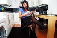 Raunchy Raven. Domestic Bliss With Deliscious Raven Pt1 Free Pic 2