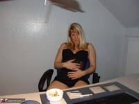 Sweet Susi. Smoking In The Office Free Pic 2