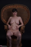Hot Milf. In The Wicker Chair Free Pic 5