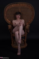 Hot Milf. In The Wicker Chair Free Pic 9