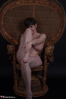 Hot Milf. In The Wicker Chair Free Pic 10