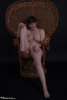 Hot Milf. In The Wicker Chair Free Pic 12