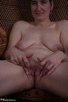 Hot Milf. In The Wicker Chair Free Pic 19