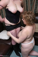 Curvy Claire. Threesome Fun In The Living Room Pt3 Free Pic 10