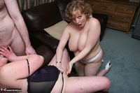 Curvy Claire. Threesome Fun In The Living Room Pt3 Free Pic 19