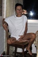 Diana Ananta. White T-Shirt Free Pic 7