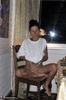 Diana Ananta. White T-Shirt Free Pic 8