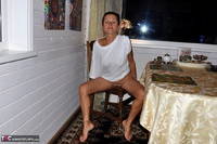 Diana Ananta. White T-Shirt Free Pic 11
