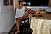 Diana Ananta. White T-Shirt Free Pic 12