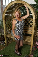 Molly MILF. In The Garden Free Pic 6
