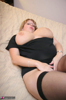 Curvy Claire. Fishnets On The Bed Pt1 Free Pic 20