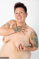 Tattoo Girl. Violet Top Free Pic 11
