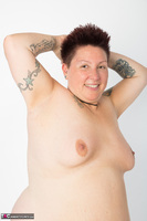 Tattoo Girl. Violet Top Free Pic 14