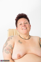 Tattoo Girl. Violet Top Free Pic 19