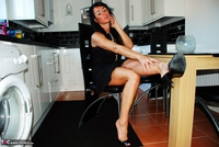 Raunchy Raven. Raunchy Raven In Little Black Dress & Black Panties Pt1 Free Pic 5