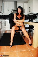 Raunchy Raven. Raunchy Raven In Little Black Dress & Black Panties Pt1 Free Pic 19
