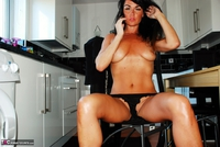Raunchy Raven. Raunchy Raven In Little Black Dress & Black Panties Pt2 Free Pic 5