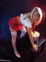 Sweet Susi. Schoolgirl & Popcorn Free Pic 5