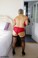 . Red Undies Free Pic 14