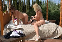 Melody. Lesbo Fun On The Bed Pt3 Free Pic 12