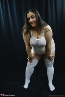Kimberly Scott. White Body Stocking Pt1 Free Pic 3