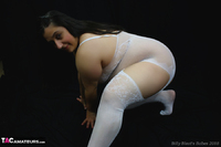 Kimberly Scott. White Body Stocking Pt1 Free Pic 8