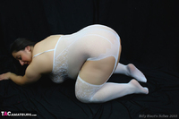 Kimberly Scott. White Body Stocking Pt1 Free Pic 11