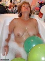 Busty Bliss. Big Boob Balloons & Bath Free Pic 15