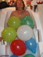 Busty Bliss. Big Boob Balloons & Bath Free Pic 18