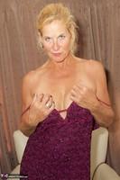 Molly MILF. Purple Dress Free Pic 8