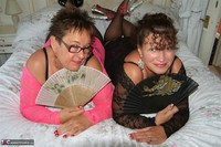 Kims Amateurs. Kim & Honey In Lace Free Pic 5