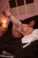 Kinky Carol. Dressed For Bed In Stockings Pt2 Free Pic 17