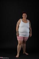 Tattoo Girl. White Top Free Pic 1