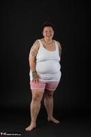Tattoo Girl. White Top Free Pic 2