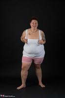 Tattoo Girl. White Top Free Pic 5