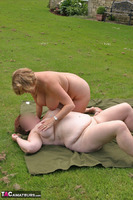 Curvy Claire. Outdoor Naked Rug Munching Pt2 Free Pic 4