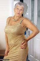 . Gold Dress Free Pic 1
