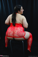 Kimberly Scott. Red Bodystocking Pt1 Free Pic 14