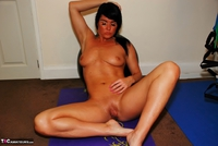 Raunchy Raven. Keeping fit and flirty Free Pic 18